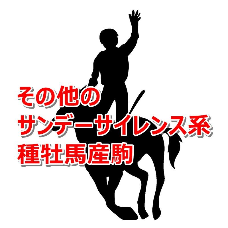 その他のサンデーサイレンス系種牡馬産駒カタログキャッチ